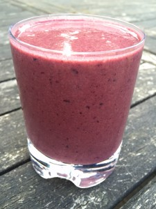 Cherry monkey juice smoothie
