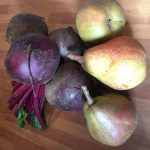 Beetroots and pears