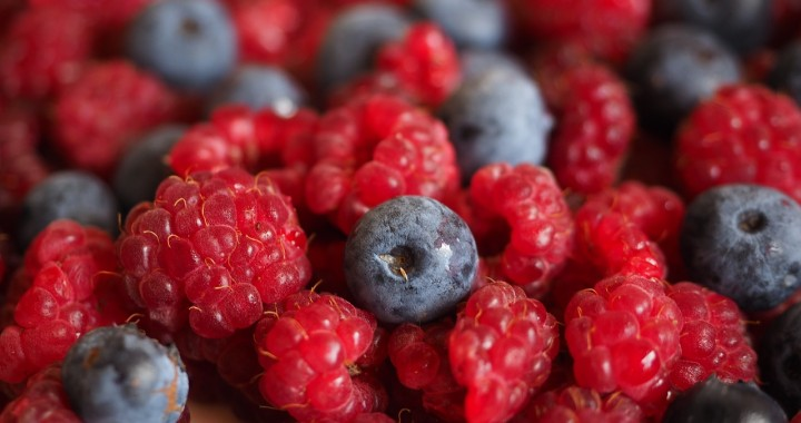 Berries give your smoothie an antioxidant boost